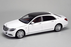 1/18 Almost Real Almostreal Mercedes-Benz MB Mercedes Maybach S600 (White) Diecast Car Model