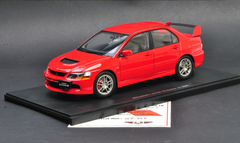 1/18 Super A SuperA Mitsubishi Evo 9th Generation (Red) Diecast Car Model Limited 999