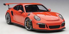 1/18 AUTOart PORSCHE 911(991) GT3 RS (LAVA ORANGE/DARK GREY WHEELS) Diecast Car Model