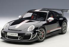 1/18 AUTOART PORSCHE 911(997) GT3 RS 4.0 (GLOSS BLACK) Diecast Car Model 78146