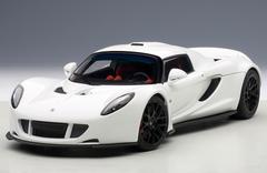 1/18 AUTOart HENNESSEY VENOM GT SPYDER (WHITE) Diecast Car Model 75404
