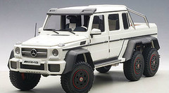 1/18 AUTOart MERCEDES-BENZ MB G63 AMG 6X6 (MATT WHITE) Diecast Car Model 76303
