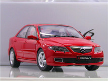 RARE 1/18 Dealer Edition 1st Generation 2002-2008 Mazda 6 / Atenza (Red) Diecast Car Model