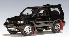 RARE 1/18 AUTOart 1998 Mitsubishi Pajero Evo - Black Diecast Car Model 77131