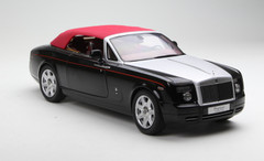 1/18 KYOSHO ROLLS-ROYCE PHANTOM COUPE Soft Top Convertible (BLACK) DIECAST MODEL