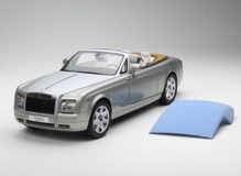1/18 KYOSHO ROLLS-ROYCE PHANTOM COUPE Soft Top Convertible (GREY) DIECAST MODEL
