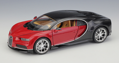 1/24 Welly FX Bugatti Chiron (Red) Diecast Car Model