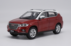 1/18 Dealer Edition Great Wall Haval H2 (Red) Diecast Car Model