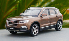 1/18 Dealer Edition Great Wall Haval H7 (Brown) Diecast Car Model