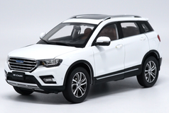 1/18 Dealer Edition Great Wall Haval H6 Coupe (White) Diecast Car Model