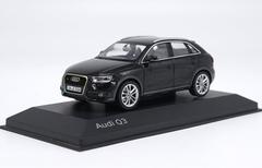 1/43 Dealer Edition Audi Q3 (Black) Diecast Car Model