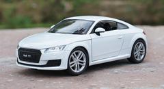1/24 Welly FX 2014 Audi TT (White) Diecast Car Model