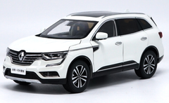 1/18 Dealer Edition Renault Koleos (White) Diecast Car Model