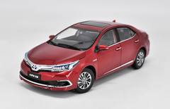 1/18 Dealer Edition 2015 Toyota Corolla (Red) Diecast Car Model