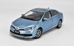 1/18 Dealer Edition 2015 Toyota Corolla (Blue) Diecast Car Model