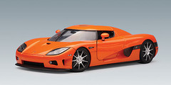 RARE 1/18 AUTOart KOENIGSEGG CCX - ORANGE Diecast Car Model 79001