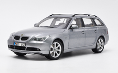 1/18 Dealer Edition BMW E60 5 Series Touring (Silver) Diecast Car Model
