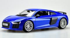 1/18 Maisto Premium Edition Audi R8 V10 Plus (Blue) Diecast Car Model
