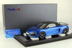1/18 Frontiart Handmade Audi R8 GT Spider (Blue) Resin Car Model Limited 30