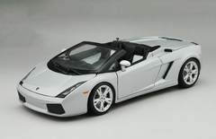 1/18 Maisto Lamborghini Gallardo Spyder (Silver) Diecast Car Model