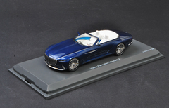 1/43 Shuco Mercedes-Benz MB Mercedes Maybach Vision 6 Cabriolet (Blue) Resin Car Model