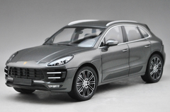 1/18 Minichamps Porsche Macan Turbo (Metallic Grey) Diecast Car Model Limited 504