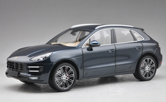 1/18 Minichamps Porsche Macan Turbo (Metallic Blue) Diecast Car Model Limited 504