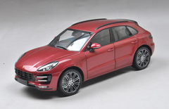 1/18 Minichamps Porsche Macan Turbo (Red) Diecast Car Model Limited 1002