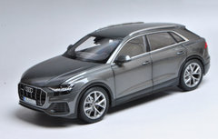 1/18 Dealer Edition Audi Q8 (Silver Grey) Diecast Car Model