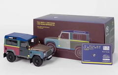1/18 Almost Real AlmostReal Land Rover Defender 90 Paul Smith Edition 2015 Diecast Car Model