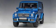 1/18 AUTOart Mercedes-Benz MB G-Class G-Klasse G63 AMG (DESIGNO MAURITIUS BLUE) Diecast Car Model 76324