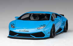 1/18 AUTOart LIBERTY WALK LB-WORKS LAMBORGHINI HURACAN (METALLIC SKY BLUE) Diecast Car Model 79122