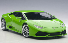 1/18 AUTOart LAMBORGHINI HURACAN LP610-4 (VERDE MANTIS 4-LAYER/GREEN METALLIC) Diecast Car Model 74605