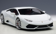 1/18 AUTOart LAMBORGHINI HURACAN LP610-4 (BIANCO ICARUS METALLIC/WHITE METALLIC) Diecast Car Model 74602