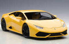 1/18 AUTOart LAMBORGHINI HURACAN LP610-4 (GIALLO MIDAS PEARL EFFECT/YELLOW PEARL) Diecast Car Model 74604