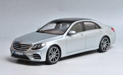 1/18 Norev Mercedes-Benz MB S-Class S-Klasse S450L (Silver) Diecast Car Model