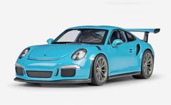 1/24 Welly FX Porsche 911 GT3RS GT3 RS (Blue) Diecast Car Model