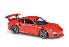 1/24 Welly FX Porsche 911 GT3RS GT3 RS (Red) Diecast Car Model