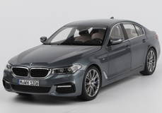 1/18 Dealer Edition BMW G30 5 Series 530i 540i M550i (Grey) Diecast Car Model