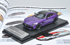 1/43 Almost Real AlmostReal Mercedes-Benz MB AMG GTR GT R (Purple) Diecast Car Model Limited 299