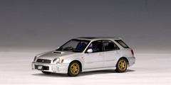 1/43 AUTOart SUBARU NEW AGE IMPREZA WRX WAGON STi 2001 (SILVER) Diecast Car Model 58632