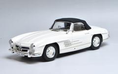 1/18 Minichamps Mercedes-Benz MB 1957 300SL 300 SL Roadster (White) Diecast Car Model Limited 504