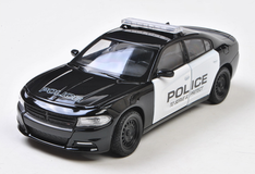 1/24 Welly FX Dodge Charger Pursuit Police Car Diecast Car Model