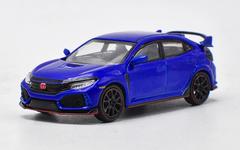 1/64 MINI GT MINIGT Honda Civic TypeR Type R FK8 (Blue) Diecast Car Model
