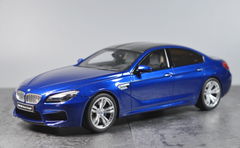 1/18 GT Spirit GTSpirit BMW F13 M6 Gran Coupe (Blue) Resin Car Model