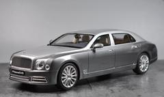 1/18 GT Spirit GTSpirit Bentley Mulsanne EWB (Silver) Resin Car Model