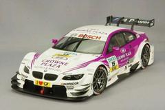 1/18 Minichamps BMW E92 DTM Team RBM Andy Priaulx #15 Diecast Car Model