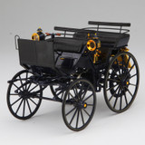 1/18 Norev 1886 Mercedes-Benz MB Daimler Motorkutsche Carriage Diecast Car Model
