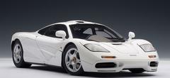 RARE 1/18 AUTOart MCLAREN F1 - WHITE Diecast Car Model 76004