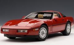 1/18 AUTOart 1986 CHEVROLET CORVETTE - BRIGHT RED Diecast Car Model 71241
